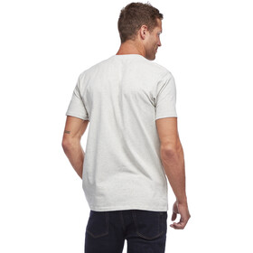 Black Diamond Stacked Logo T-shirt Heren, grijs